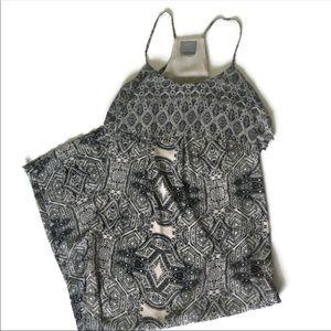 Anthropologie Vanessa Virginia Fliese Maxi Dress-8